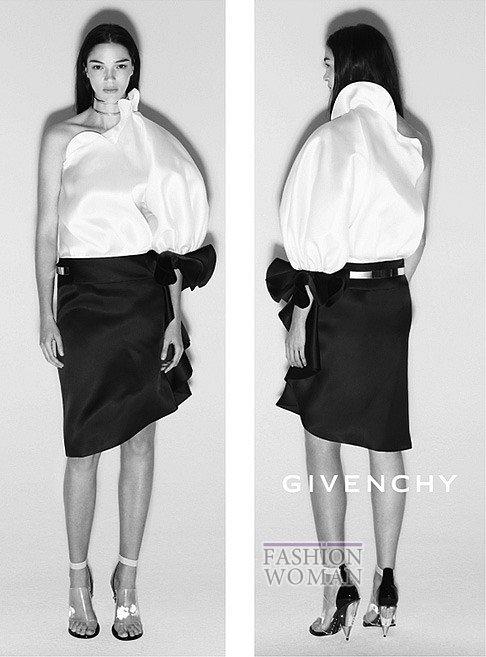 Фото рекламной кампании Givenchy весна-лето 2013