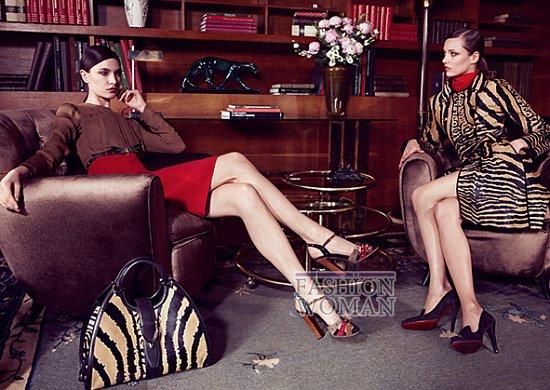 Рекламная кампания Gucci Pre-Fall 2012 фото №14