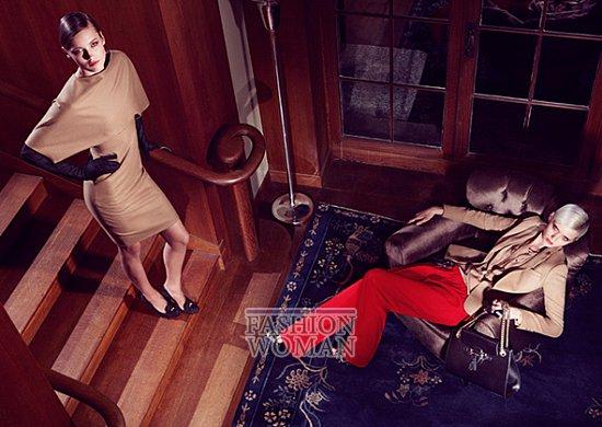 Рекламная кампания Gucci Pre-Fall 2012 фото №8