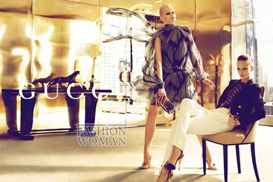 Рекламная кампания Gucci весна-лето 2012  фото №1