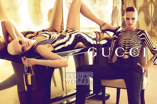 Рекламная кампания Gucci весна-лето 2012  фото №2