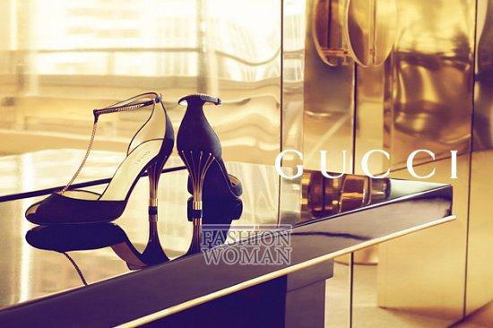 Рекламная кампания Gucci весна-лето 2012  фото №12