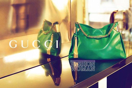 Рекламная кампания Gucci весна-лето 2012  фото №13