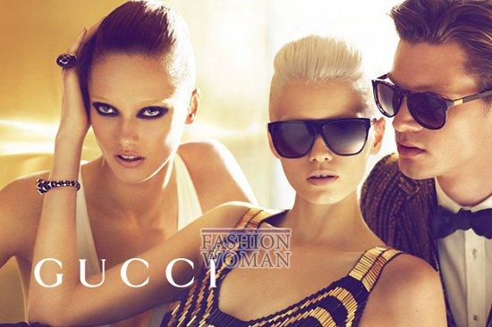 Рекламная кампания Gucci весна-лето 2012  фото №14