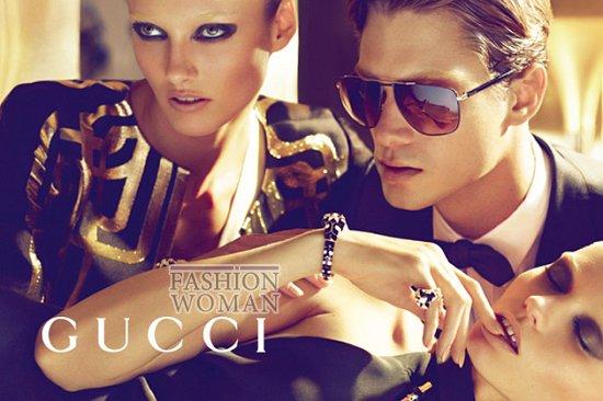 Рекламная кампания Gucci весна-лето 2012  фото №15