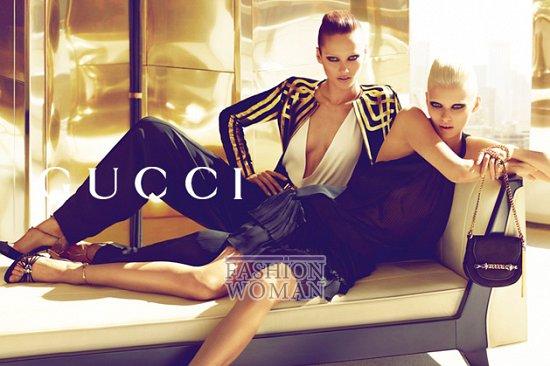Рекламная кампания Gucci весна-лето 2012  фото №3