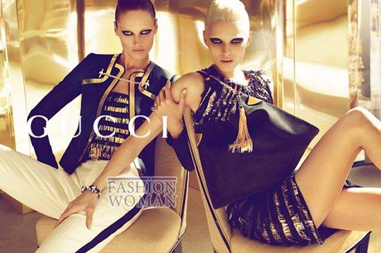 Рекламная кампания Gucci весна-лето 2012  фото №4