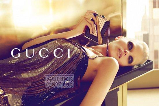 Рекламная кампания Gucci весна-лето 2012  фото №5