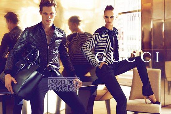Рекламная кампания Gucci весна-лето 2012  фото №6
