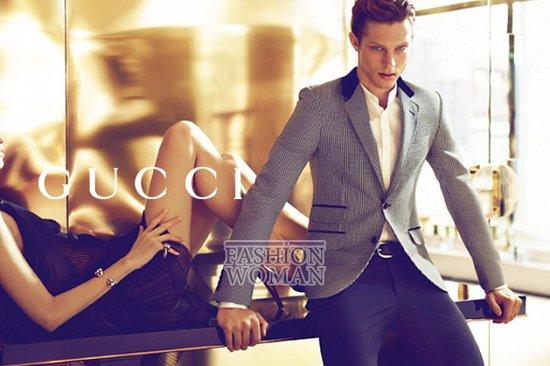 Рекламная кампания Gucci весна-лето 2012  фото №7