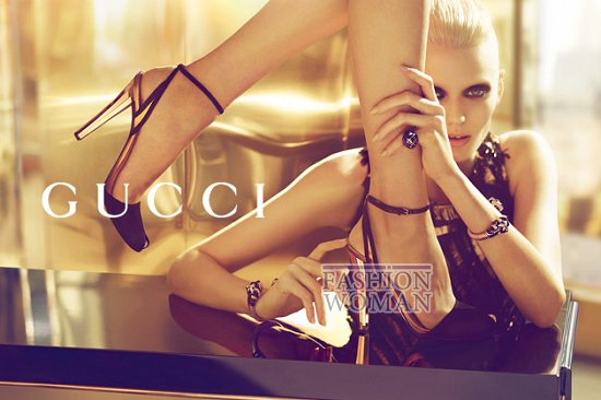 Рекламная кампания Gucci весна-лето 2012  фото №8