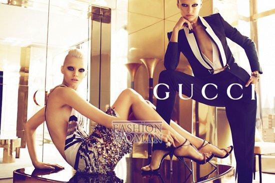 Рекламная кампания Gucci весна-лето 2012  фото №9