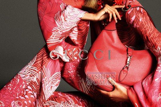 Рекламная кампания Gucci весна-лето 2013 фото №4
