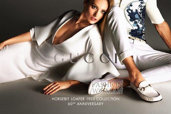 Рекламная кампания Gucci весна-лето 2013 фото №8