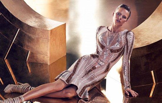 Рекламная кампания Herve Leger осень-зима 2015-2016 фото №8