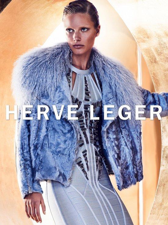 Рекламная кампания Herve Leger осень-зима 2015-2016 фото №2