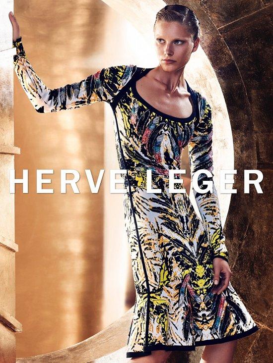 Рекламная кампания Herve Leger осень-зима 2015-2016 фото №6
