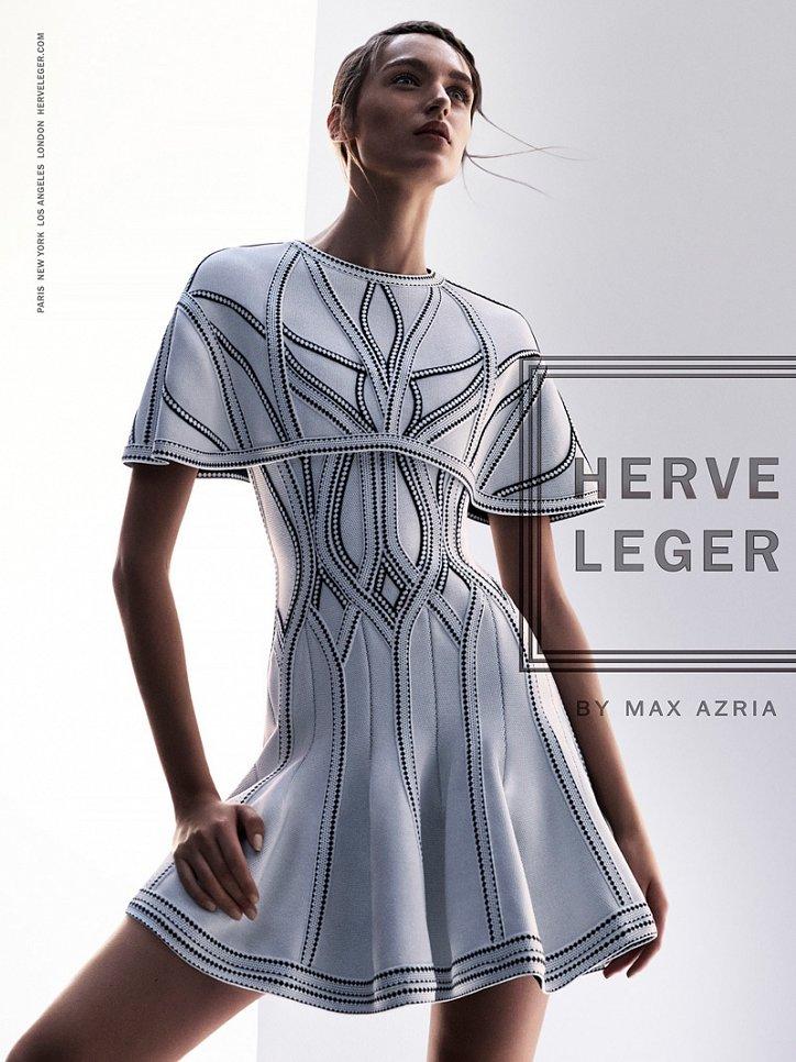 Рекламная кампания Herve Leger весна-лето 2016 фото №5