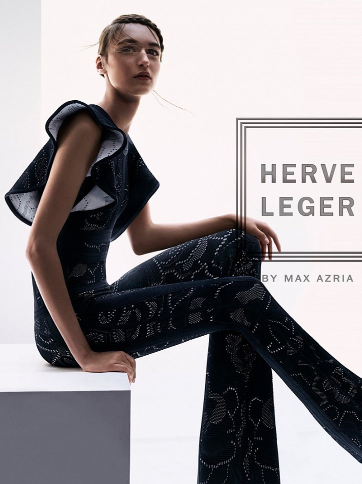 Рекламная кампания Herve Leger весна-лето 2016 фото №2