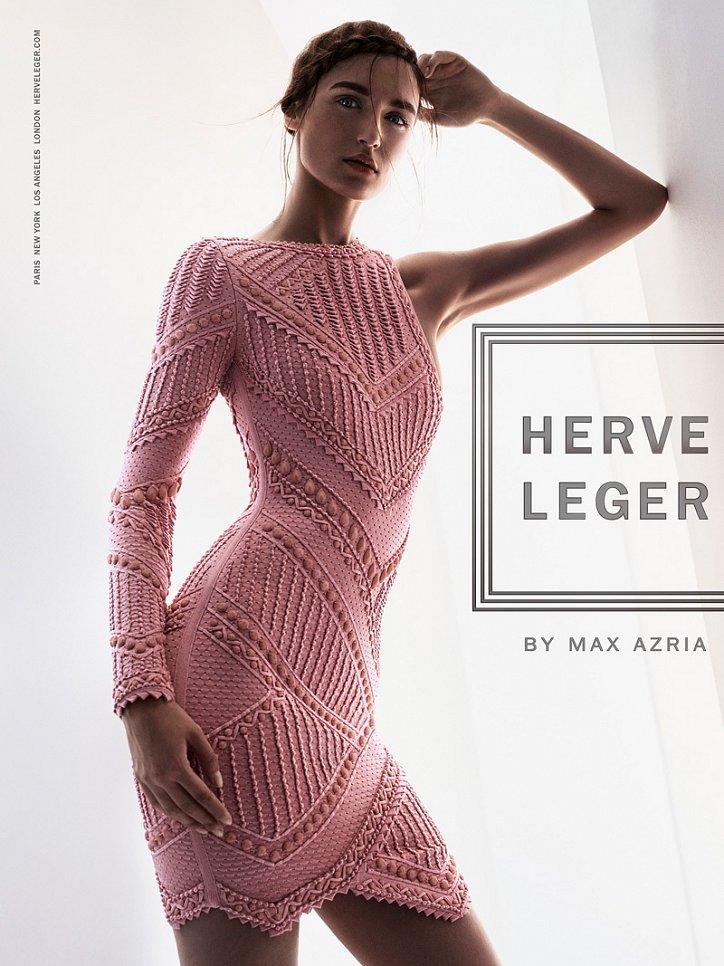 Рекламная кампания Herve Leger весна-лето 2016 фото №3