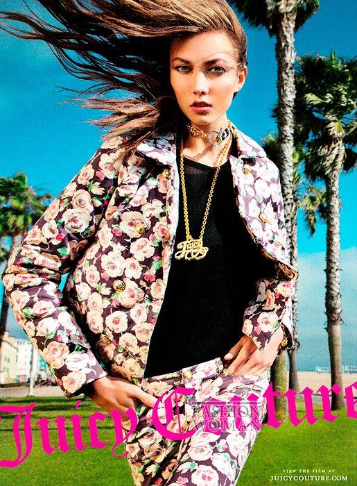 Рекламная кампания Juicy Couture осень-зима 2012-2013 фото №1