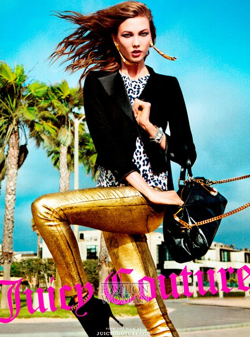 Рекламная кампания Juicy Couture осень-зима 2012-2013 фото №2