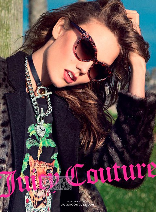 Рекламная кампания Juicy Couture осень-зима 2012-2013 фото №4