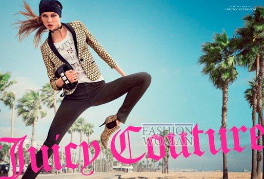 Рекламная кампания Juicy Couture осень-зима 2012-2013 фото №5