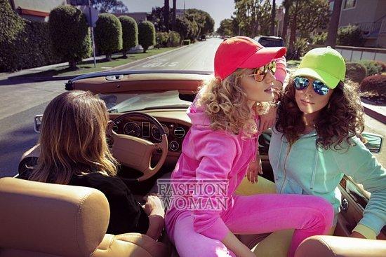 Рекламная кампания Juicy Couture весна 2014 фото №6