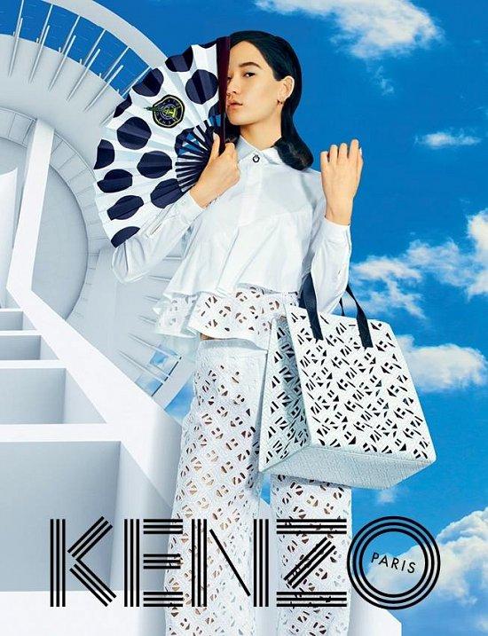 Рекламная кампания Kenzo весна-лето 2015 фото №3