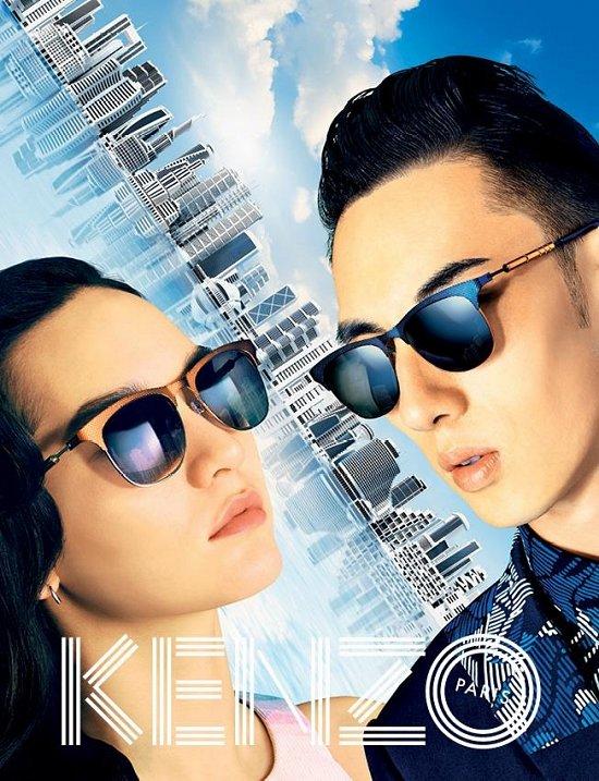 Рекламная кампания Kenzo весна-лето 2015