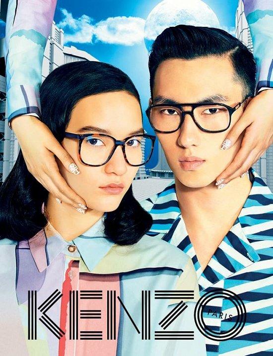 Рекламная кампания Kenzo весна-лето 2015 фото №2