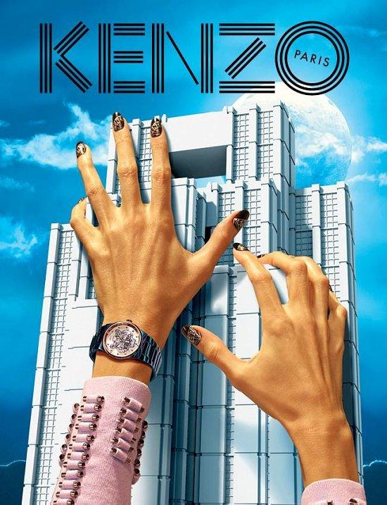 Рекламная кампания Kenzo весна-лето 2015 фото №5