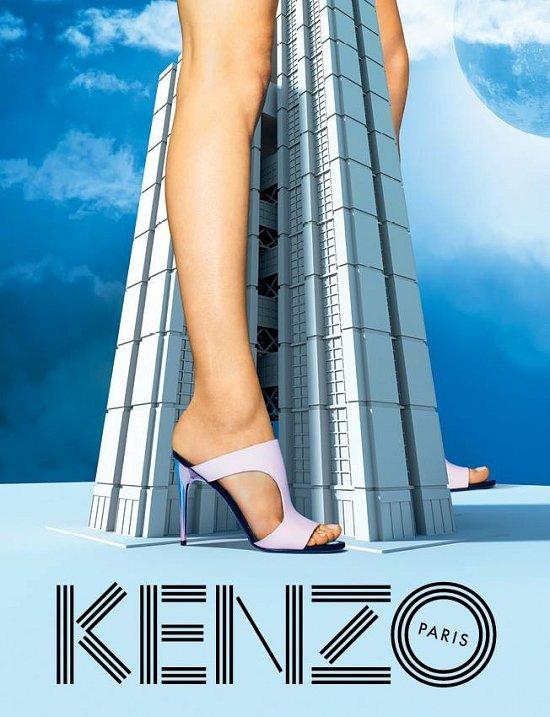 Рекламная кампания Kenzo весна-лето 2015 фото №6