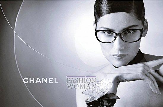 Рекламная кампания линии очков Chanel