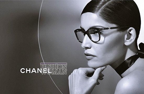Рекламная кампания линии очков Chanel фото №2