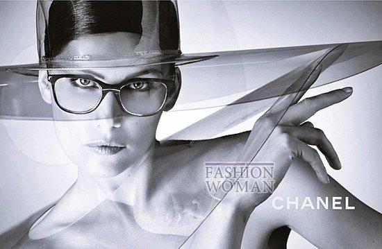 Рекламная кампания линии очков Chanel фото №3