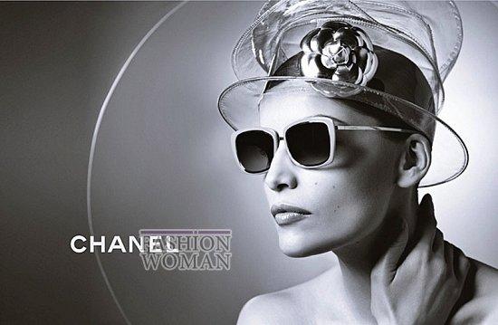 Рекламная кампания линии очков Chanel фото №4