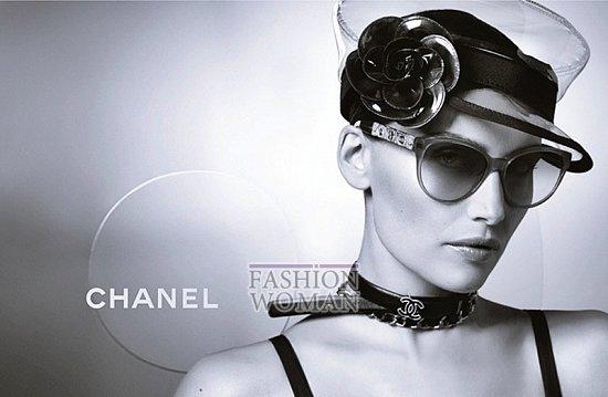 Рекламная кампания линии очков Chanel фото №5