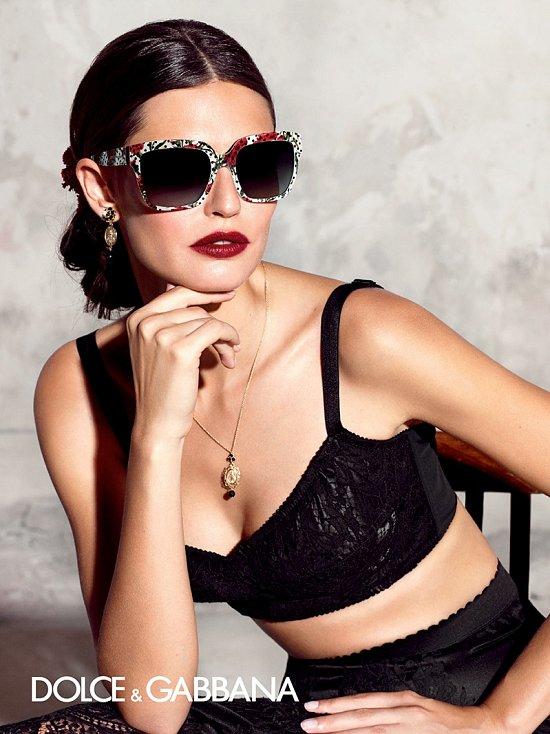 Бьянка Балти в рекламе Dolce & Gabbana