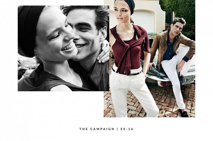 Рекламная кампания Massimo Dutti весна-лето 2016