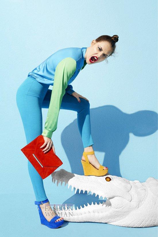 Рекламная кампания обуви Aldo весна-лето 2012 фото №1