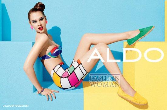 Рекламная кампания обуви Aldo весна-лето 2012 фото №8