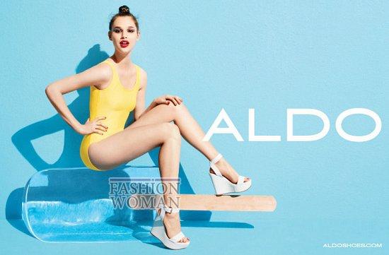 Рекламная кампания обуви Aldo весна-лето 2012 фото №9