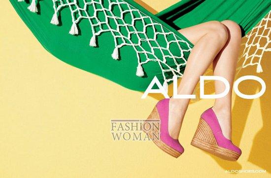 Рекламная кампания обуви Aldo весна-лето 2012 фото №10