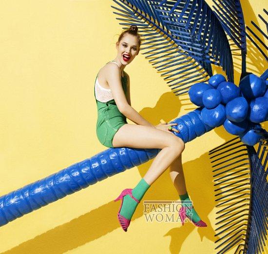 Рекламная кампания обуви Aldo весна-лето 2012 фото №4