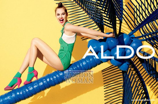 Рекламная кампания обуви Aldo весна-лето 2012 фото №6
