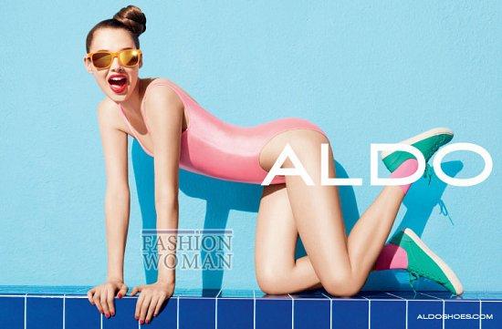 Рекламная кампания обуви Aldo весна-лето 2012 фото №7