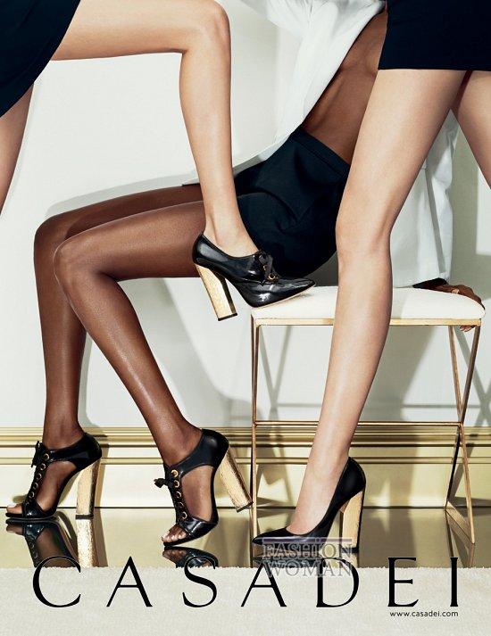Рекламная кампания обуви Casadei осень-зима 2013-2014 фото №1