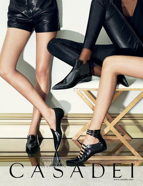 Рекламная кампания обуви Casadei осень-зима 2013-2014 фото №3